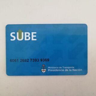 アルゼンチン: SUBEカード(公共交通ICカード)
