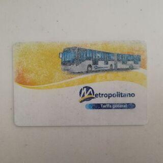 ペルー: リマ: バス乗車カード: METROPOLITANO:...