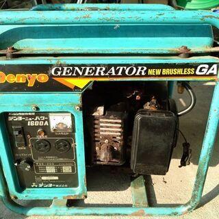 ガソリン発電機
