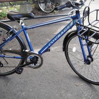 美品 COURAGE 700C 自転車 CRAF700C BL ...