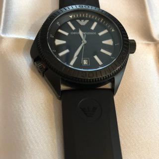 エンポリオアルマーニ時計【ブラック】