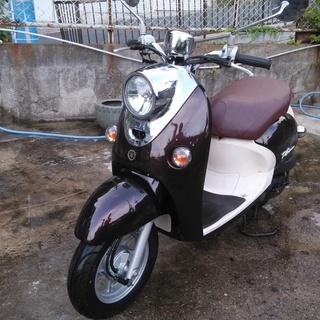☆☆ヤマハビーノFI SA37J ブラウン 外装新品、タイヤバリ山