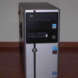 ショップ製デスクトップ(Ci5-650/4G/500G/w10)