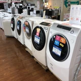 ドドン!と展示中!ドラム式洗濯機大量入荷しています!