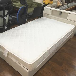 引き出し付 シングルベッド