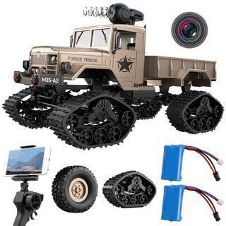 ラジコンカー REMOKING 軍用トラック RCカー