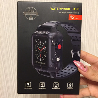 Apple Watch 42mm ケースバンド IP65防水 シ...