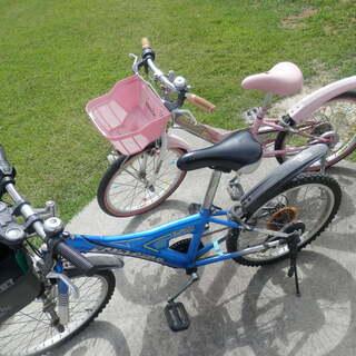 自転車 子供用 中古 サビありますが 無料でもらってくれる…