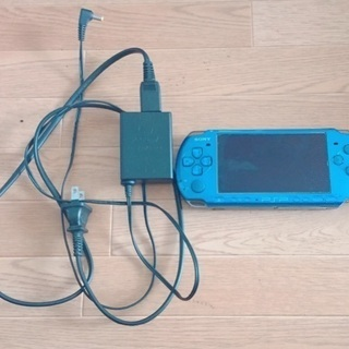 PSP 本体 青