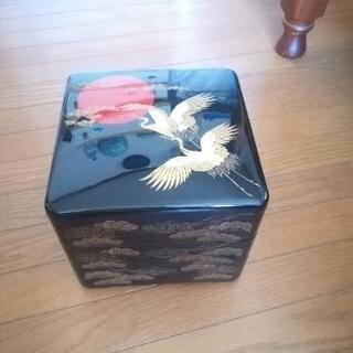 鶴のお重箱