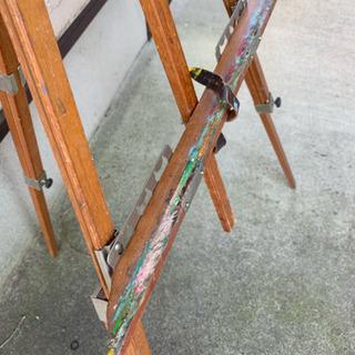 木製イーゼル 2
