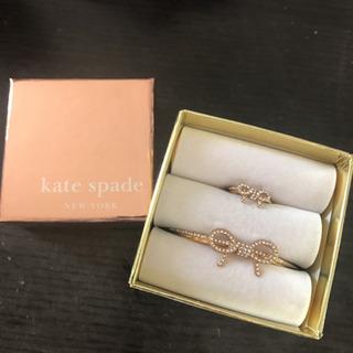 ケイトスペード バングル & リング セット Kate spade