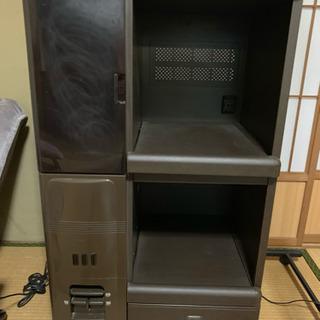 YODOKO kitchen goods  炊飯器等 収納棚  ...