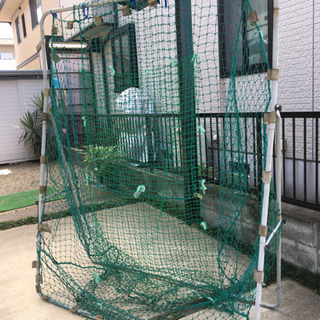野球 バッティングネット
