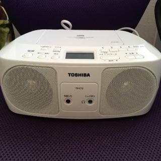 TOSHIBA CDラジオ 美品です【沼津】