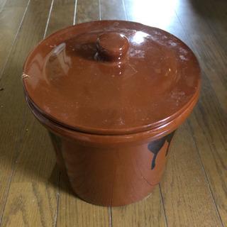 陶器製かめ 味噌、漬物用