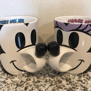 ミッキー&ミニー ペアマグカップ
