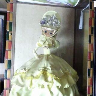 フランス人形、黄色、 訳あり
