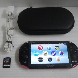PlayStation Vita Wi-Fiモデル ピンク/ブラ...