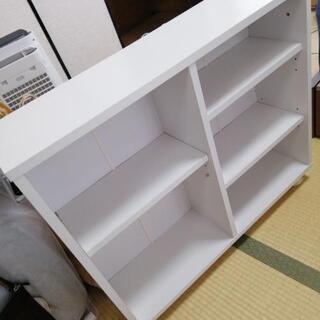 【0円】押入れ用キャスター付き本棚