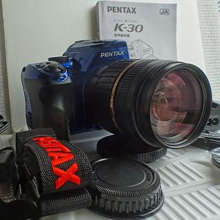 PENTAX K-30+18-200mmレンズキット 新品級のキ...
