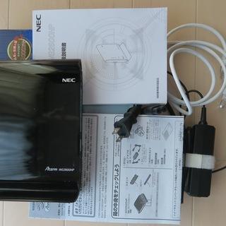 NEC Wi-Fiホームルター PA- WG2600HP 中古品動作品