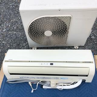 東芝 冷暖房エアコン  6畳-9畳用  2013年製