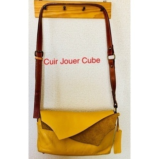 Cuir Jouer Cube☆キュイールジュエキュブ☆革バッグ...