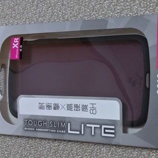 iPhone XR ケース 耐衝撃 TOUGH SLIM LIT...