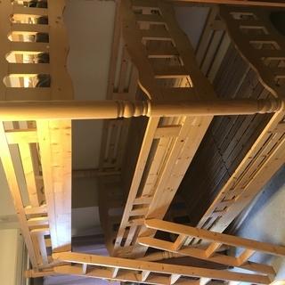 木製三段ベッド(3段ベッド)
