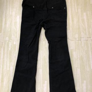 マタニティ ズボン M 黒