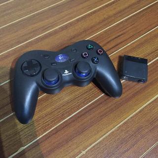PS2 ワイヤレスコントローラ Logitech製