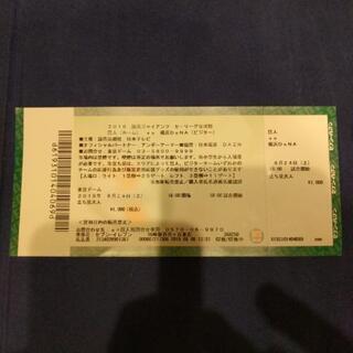 8月24日(土)巨人VS横浜@東京ドーム(18:00〜)観に行き...