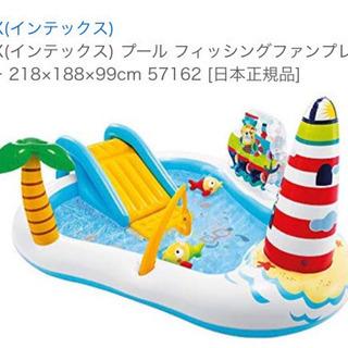 【値下げ】子供 滑り台つきプール
