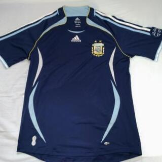サッカーアルゼンチン代表 06/07 アウェイユニフォーム(Lサ...