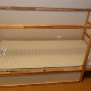 子供用ベッド フランスベッド製マットレス(2万円で購入)付き I...