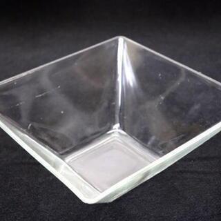 ガラス製正方形皿 248×100 サラダ お料理