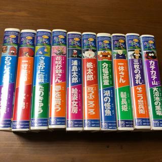 日本昔ばなしVIDEO10本シリーズの画像