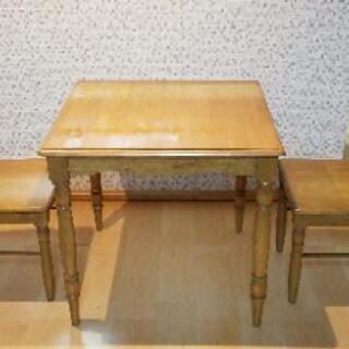 2人用☆ダイニングテーブルセット