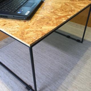 OSB製テーブル!PCデスクに!