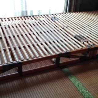 竹製ベッド