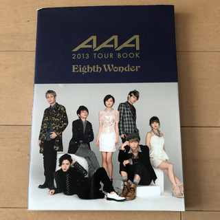 AAA 2013 TOUR BOOK Eighth Wonder