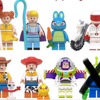 トイストーリー レゴ互換 ミニフィグ 7体セット ウッディ バズ...