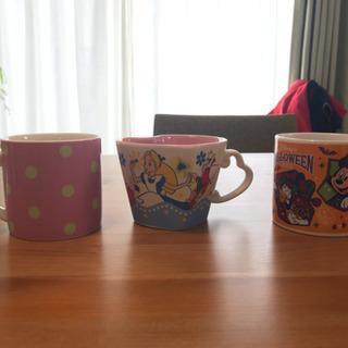 【無料】ディズニー マグカップ 3つ