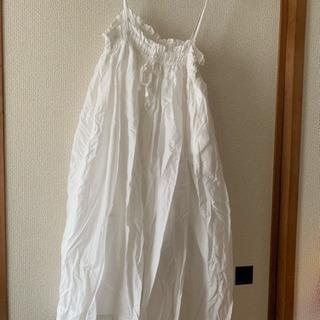 ウエディングドレス風★白ワンピ