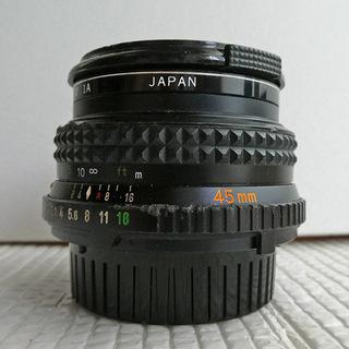 Minolta 45mm F2.0パンケーキレンズ極美品