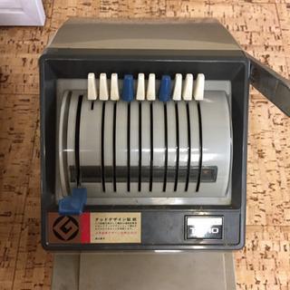 チェックライター タイプライター