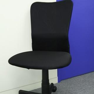 <5脚>オフィスチェア 事務所 勉強用椅子 黒 美品