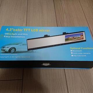 ジャンク品  ミラータイプドライブレコーダーの画像
