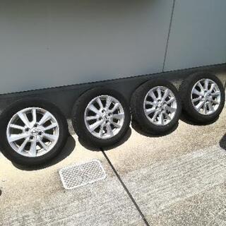 155/65 R14 日産純正タイヤ&ホイール セット